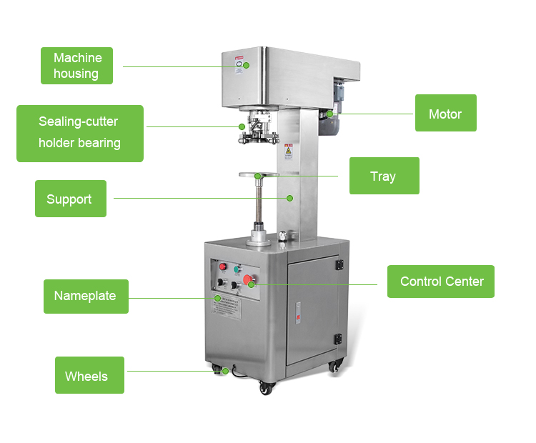 Paper Can Sealing Machine