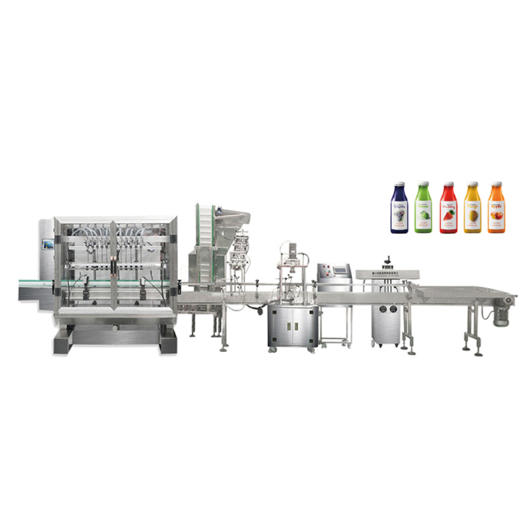 Automatic Olive oil filling capping machine