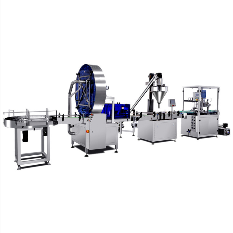 850g Protein Powder Filling Capping Line