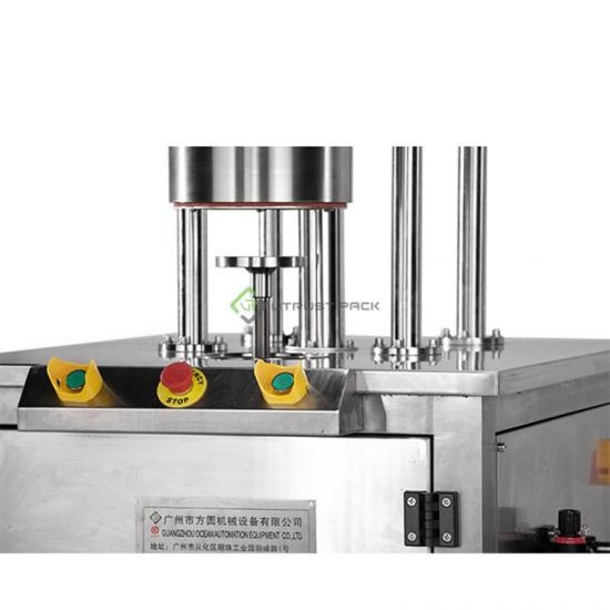 n2 pack can sealing machine for smartbud