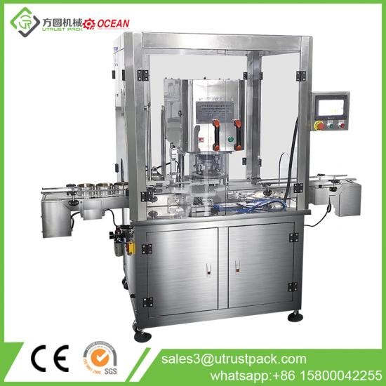 Automatic Nitrogen Flushing Cans Seaming Machine